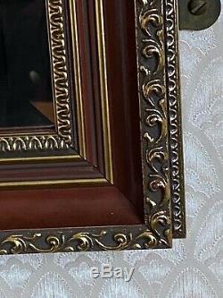 Retro decorative Large WALL MIRROR 130 x 99 cm