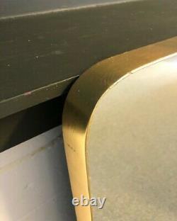 Rockett St George Large Rectangular Gold Framed Wall Mirror