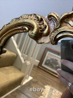 Rococo Baroque Style Mirror Gilt Frame Wall Hanging Mirror