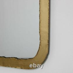 Rustic Thin Framed Gold Mirror wall mounted home decor bathroom bedroom