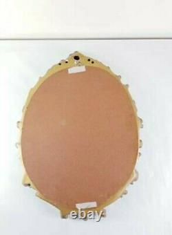 STUNNING Vintage Old Gold Ornate Decorative Wall Hung Mirror 1970s