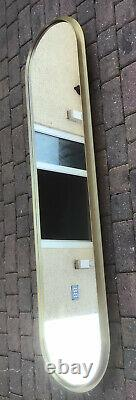 Stunning Full Length Wall / Dressing Mirror By Distinction Furniture Brass Frame