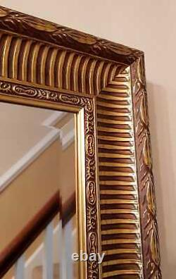 Stunning Ornate John Lewis Bevelled Edge Gold Frame Wall Mirror Fab Condition