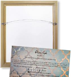 The Oliver Gal Artist Co. Couture X Ray' Framed Abstract Wall Decor, 50 x 50