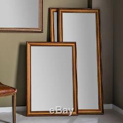 Trident Full Length Antique Aged Gold Frame Leaner Floor Wall Mirror 152 x 63cm