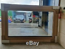 Two way TV mirror ornate high quality 40. Frame, hide, stand, wall mount, gold
