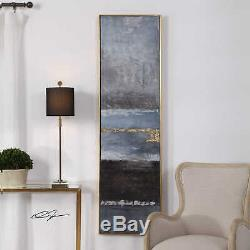 Uttermost 36051 Wall Art Winter Sea Scape Gold