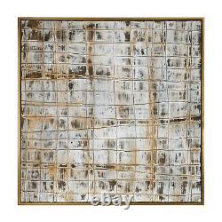Uttermost 36052 Wall Art Egyptian Linen Gold