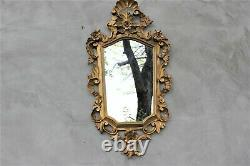 Vintage Baroque style Mirror Rich Ornate Gold Frame Decorative Entryway Wall Mir