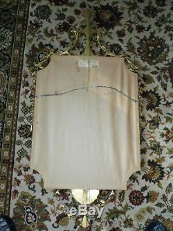 Vintage D Milch & Sons Louis XV Rococo Style Large Gilt Gesso Framed Wall Mirror