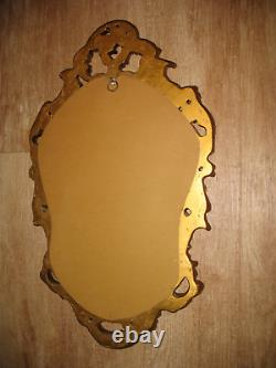 Vintage Inspired Gold Rococo French Style Wall Mirror COLLECTION ONLY NN11