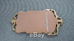 Vintage Regency/antique Gilt Gold Colour Wooden Frame Beveled Wall Mantel Mirror