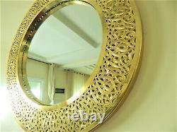 Wall Mirror, Copper Moroccan design, Handmade Mirror, Boho Decor, Entrance