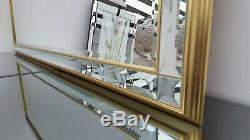 Wall Mirror Decorative Gold Modern Full Length Leaner John Lewis 56cm x 148cm