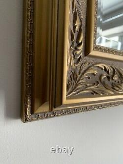 Wall Mirror Decorative Gold Vintage French Style Frame 108cm x 78cm