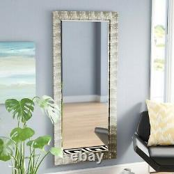Waterford Champagne Fish Gold Wall Decorative Rectangular Wooden Frame Mirror