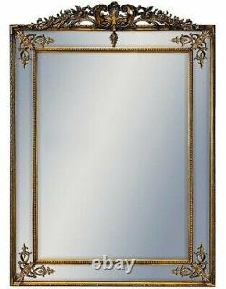 XXL Large Ornate Paris French Gold Wall Mirror 192cm x 134cm Retro Antique Style