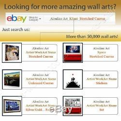 Zodiac by Alphonse Mucha Framed canvas Wall art oil painting HD artwork